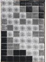 Paklājs SEHER 3D 2615 black grey B 43.56€ Seher 3D kolekcija Dizaina Paklājs SIA