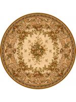 Paklājs ISFAHAN Dafne sahara circle A 116.78€ Ovālie un apaļie paklāji Dizaina Paklājs SIA