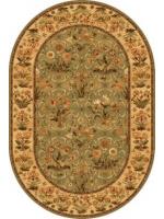 Paklājs ISFAHAN Olandia olive oval A 137.89€ Ovālie un apaļie paklāji Dizaina Paklājs SIA