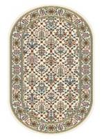 Paklājs STANDARD Tamir cream oval A 39.2€ Ovālie un apaļie paklāji Dizaina Paklājs SIA