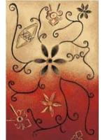 Paklājs Folk Zarnicka coral A 120€ Dažādu stilu paklāju kolekcija Dizaina Paklājs SIA