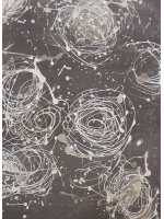 Paklājs ALABASTER Kianta W graphite A 61.23€ Alabaster kolekcija Dizaina Paklājs SIA