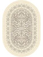 Paklājs ALABASTER Sonkari W light cocoa oval A 354.78€ Ovālie un apaļie paklāji Dizaina Paklājs SIA