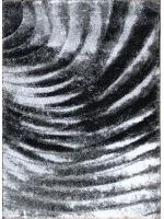 Paklājs SEHER 3D 2872 black grey B 43.56€ Seher 3D kolekcija Dizaina Paklājs SIA