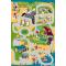 Paklājs FUNKY TOP UGO green 50.73€ Kids kolekcija Dizaina Paklājs SIA