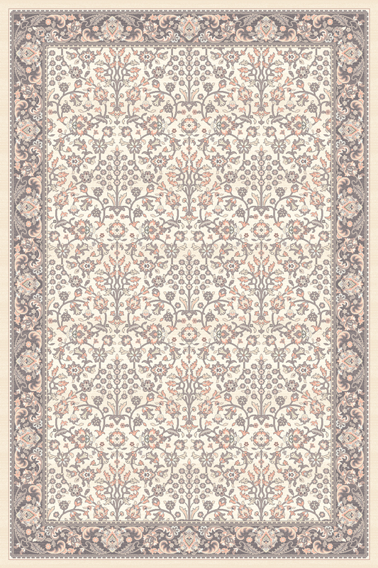 Paklājs ISFAHAN Itamar alabaster 60€ Isfahan kolekcija BCC SIA