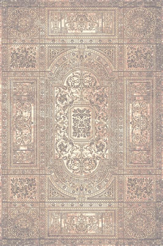 Paklājs ISFAHAN Timandra roze A 60€ Isfahan kolekcija BCC SIA