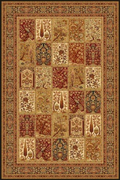 Paklājs ISFAHAN Timor black A 110€ Isfahan kolekcija BCC SIA