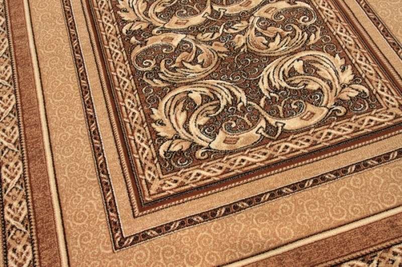 Paklājs STANDARD Aralia light brown A 18€ Standard Classic kolekcija BCC SIA