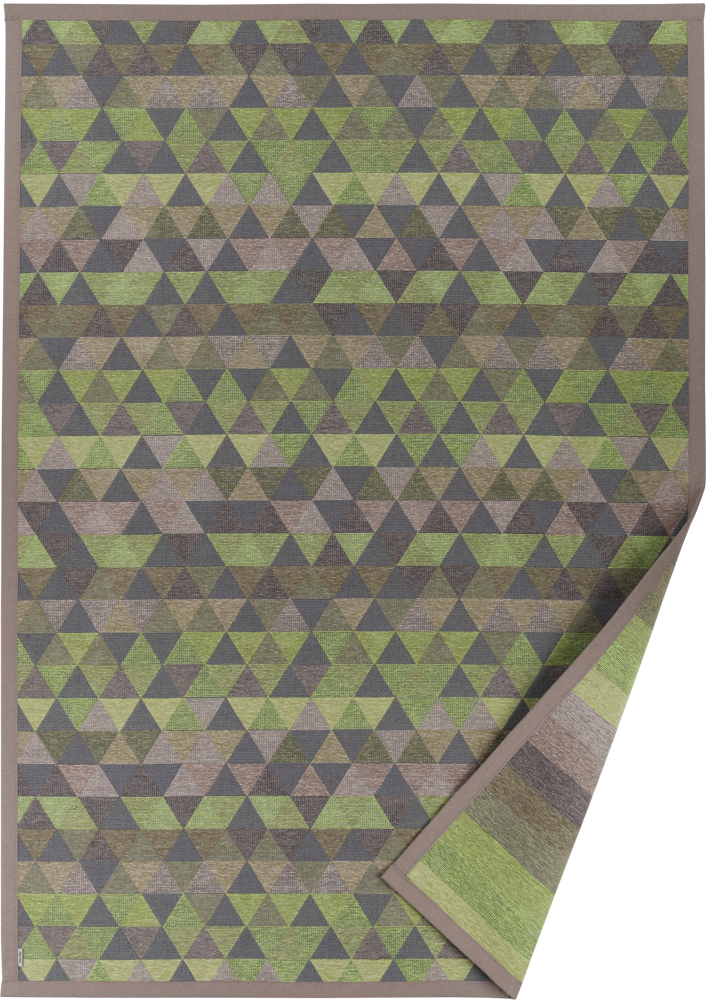 Paklājs LUKE green chenille 49€ Abpusējie austie paklāji BCC SIA
