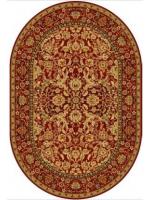 Paklājs AGNUS Royal Stolnik ruby oval A 271.03€ Ovālie un apaļie paklāji Dizaina Paklājs SIA