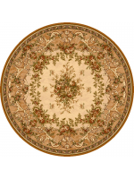 Paklājs ISFAHAN Dafne sahara circle A 132.71€ Ovālie un apaļie paklāji Dizaina Paklājs SIA