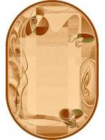 Paklājs ISFAHAN Himalia sahara oval A 199.07€ Ovālie un apaļie paklāji Dizaina Paklājs SIA