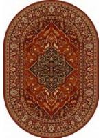 Paklājs ISFAHAN Leyla ruby oval A 400€ Ovālie un apaļie paklāji BCC SIA