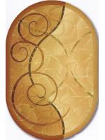 Paklājs ISFAHAN Selma sahara oval A 105.75€ Ovālie un apaļie paklāji Dizaina Paklājs SIA