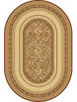 Paklājs STANDARD Aralia beige oval A 81.68€ Ovālie un apaļie paklāji Dizaina Paklājs SIA