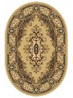 Paklājs STANDARD Fatima S beige oval A 44.43€ Ovālie un apaļie paklāji Dizaina Paklājs SIA