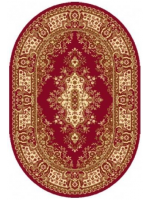 Paklājs STANDARD Fatima S dark red oval A 44.43€ Ovālie un apaļie paklāji Dizaina Paklājs SIA