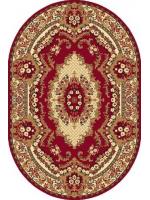 Paklājs STANDARD Krolewski dark red oval A 39.2€ Ovālie un apaļie paklāji Dizaina Paklājs SIA