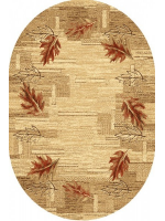 Paklājs STANDARD Olsza beige oval A 44.43€ Ovālie un apaļie paklāji Dizaina Paklājs SIA