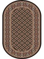 Paklājs STANDARD Apium black oval 39.2€ Ovālie un apaļie paklāji BCC SIA