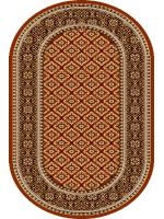 Paklājs STANDARD Apium brick red oval 39.2€ Ovālie un apaļie paklāji BCC SIA