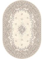 Paklājs ISFAHAN Dafne alabaster oval 52.25€ Ovālie un apaļie paklāji BCC SIA