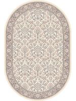 Paklājs ISFAHAN Itamar alabaster oval 260€ Ovālie un apaļie paklāji BCC SIA