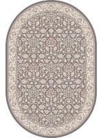 Paklājs ISFAHAN Itamar anthracite oval 260€ Ovālie un apaļie paklāji BCC SIA