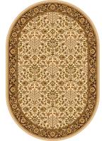 Paklājs ISFAHAN Itamar cream oval 260€ Ovālie un apaļie paklāji BCC SIA