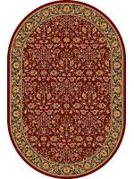Paklājs ISFAHAN Itamar ruby oval 260€ Ovālie un apaļie paklāji BCC SIA