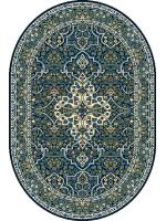 Paklājs STANDARD Laurus navy blue oval 39.2€ Ovālie un apaļie paklāji BCC SIA