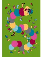 Paklājs FUNKY TOP IWO green 57.65€ Kids kolekcija Dizaina Paklājs SIA