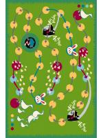 Paklājs FUNKY TOP MYK green 57.65€ Kids kolekcija Dizaina Paklājs SIA