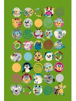 Paklājs FUNKY TOP SUS green 57.65€ Kids kolekcija Dizaina Paklājs SIA