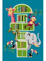 Paklājs FUNKY TOP TOM emerald 57.65€ Kids kolekcija Dizaina Paklājs SIA
