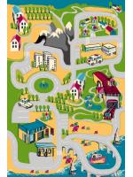 Paklājs FUNKY TOP UGO green 57.65€ Kids kolekcija Dizaina Paklājs SIA
