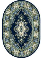 Paklājs STANDARD Fatima S navy blue oval 39.2€ Ovālie un apaļie paklāji BCC SIA