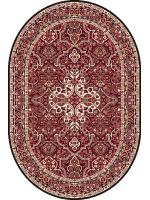 Paklājs STANDARD Laurus dark red oval 39.2€ Ovālie un apaļie paklāji BCC SIA