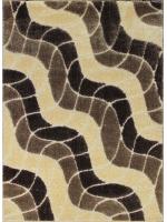 Paklājs SEHER 3D 2616 brown beige B 43.56€ Seher 3D kolekcija Dizaina Paklājs SIA