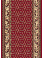Paklāja celiņš OPTIMAL Oset dark red 100x258 59.95€ Dažādu stilu paklāju kolekcija Dizaina Paklājs SIA