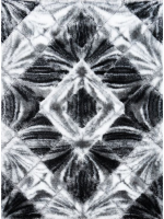 Paklājs Softy 3D 2212 White Black B 61.75€ Softy 3D kolekcija  Dizaina Paklājs SIA