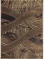 Paklājs SEHER 3D 2653 brown beige B 43.56€ Seher 3D kolekcija Dizaina Paklājs SIA