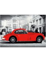 Paklājs Miasta Samochod szary W 25.62€ Populer/Miasta kolekcija Dizaina Paklājs SIA