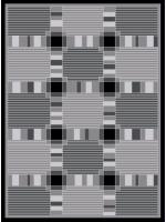 Paklājs ROMANS 2111 graphite 28.14€ Akrila paklāji Dizaina Paklājs SIA