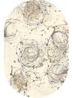 Paklājs ALABASTER Kianta W linen oval A 227.06€ Ovālie un apaļie paklāji Dizaina Paklājs SIA
