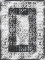 Paklājs ROMANS 2120 graphite 28.14€ Akrila paklāji Dizaina Paklājs SIA