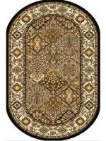 Paklājs STANDARD Bergenia olive oval A 39.2€ Ovālie un apaļie paklāji Dizaina Paklājs SIA