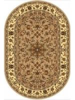 Paklājs STANDARD Samir beige oval A 39.2€ Ovālie un apaļie paklāji Dizaina Paklājs SIA