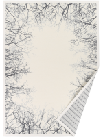 Paklājs PUISE white chenille 47.82€ Abpusējie austie paklāji Dizaina Paklājs SIA